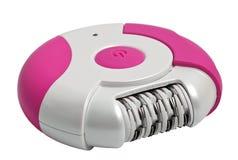 Epilator rosado Foto de archivo