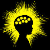 Epilepsi pojęcia znak Obraz Royalty Free