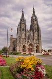 Epine大教堂教会,法国 免版税库存照片