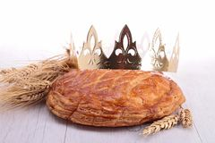 Epiphany cake Royalty Free Stock Photography