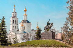 Epiphany Cathedral in Oryol Royalty Free Stock Images