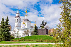Epiphany Cathedral in Oryol Russia Stock Photo