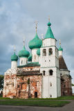 Epiphany Cathedral in Rostov the Great. Russia Stock Images