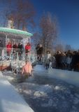 Epiphany celebrations in Russia Stock Photography
