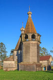 Epiphany church and belfry near Kargopol Stock Image