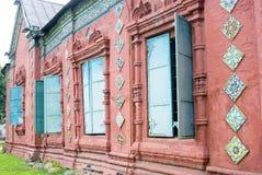 Epiphany church windows. Royalty Free Stock Photo