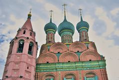Epiphany Church in Yaroslavl Russia. Royalty Free Stock Images