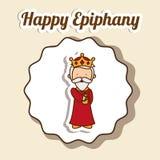 Epiphany design Stock Image