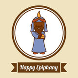 Epiphany design Stock Images