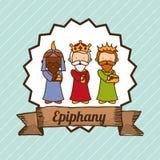 Epiphany design Royalty Free Stock Photo