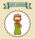 Epiphany design Royalty Free Stock Image