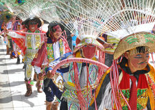 Epiphany Festival Goers Stock Images