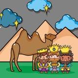 Epiphany holiday catholic chritsmas celebration Royalty Free Stock Images