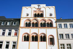 Epiphany Home Trier. The Three Royal House in Trier, Germany Stock Photo