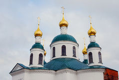 Epiphany Monastery in Uglich Stock Photo