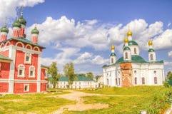 Epiphany nunnery Fedorovskaya Church Smolensk icon Mother Stock Photo