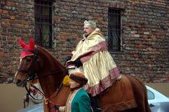 Epiphany procession Royalty Free Stock Photo