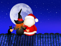 Epiphany and Santa Claus Stock Images