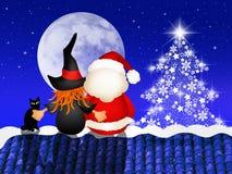 Epiphany and Santa Claus Royalty Free Stock Photography