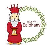 Epiphany. Vector Illustration of Epiphany background Stock Photos