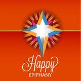 Epiphany. Vector Illustration of Epiphany background Royalty Free Stock Image