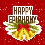 Epiphany. Vector Illustration of Epiphany background Royalty Free Stock Images