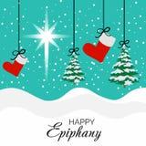 Epiphany. Vector Illustration of Epiphany background Royalty Free Stock Photos