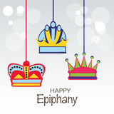 Epiphany. Vector Illustration of Epiphany background Stock Image