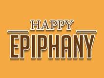 Epiphany. Vector Illustration of Epiphany stamp Stock Image