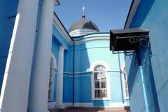 Epiphanykathedraal, in 1876 wordt gebouwd die Noginsk Rusland Stock Afbeeldingen