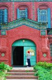 Epiphanykerk in Yaroslavl (Rusland) Royalty-vrije Stock Afbeeldingen