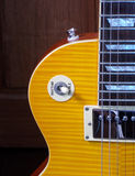 epiphone lespaul norm Royalty-vrije Stock Afbeelding