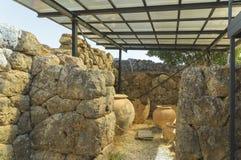 Epirus banale Grecia di Prevesa dei vasi di Nekromantio Fotografie Stock Libere da Diritti