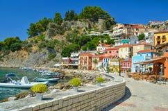 Epirus Grecia di Parga Fotografie Stock