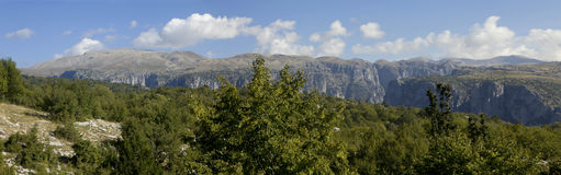 Epirus mountais, Greece Stock Image