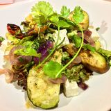 Episch Caesar Salad Royalty-vrije Stock Foto