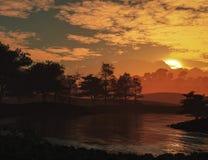 Epische Landschaft Stockfoto