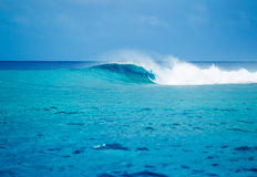 Epische Wellen, perfekte Brandung Stockfotografie