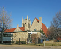 Episcopal church Stock Photo
