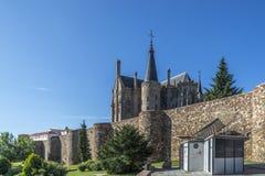 Episcopal Palace of Astorga by Gaudi Royalty Free Stock Photography