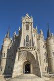 Episcopal Palace of Astorga by Gaudi Stock Image