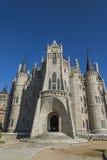 Episcopal Palace of Astorga by Gaudi Stock Photos
