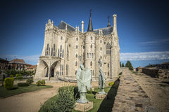 Episcopal Palace of Astorga by Gaudi Stock Photography