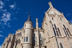 Episcopal palace, Astorga, Leon Stock Photos