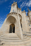 Episcopal palace of Astorga, Leon, Spain Stock Photos