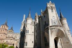 Episcopal Palace - Astorga - Spain Royalty Free Stock Photos