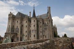Episcopal Palace, Astorga Stock Image