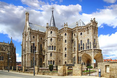 Episcopal Palace, Astorga Royalty Free Stock Photo