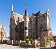 Episcopal Palace of Astorga Stock Image