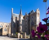 Episcopal Palace of Astorga Stock Photos